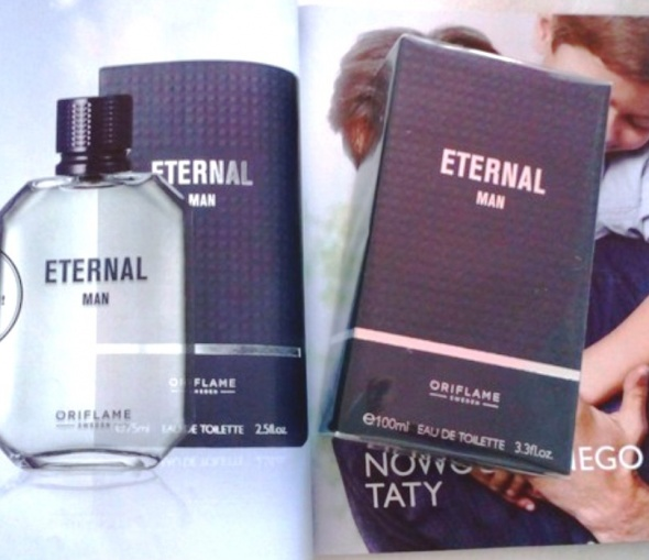 Woda toaletowa Eternal Man Oriflame 100 ml...