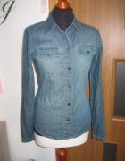 koszula jeans OLD NAVY S slim...