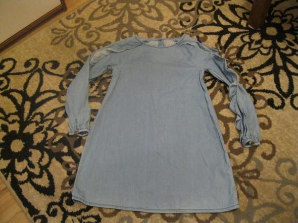sukienka jeans niebieska NEXT 128...