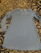 sukienka jeans niebieska NEXT 128