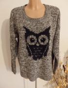 sweter z sową...