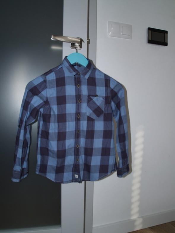 Koszulki, podkoszulki koszula reserved w kratkę dla chłopca
