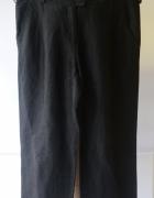 Spodnie Czarne Męskie Armani Jeans 31 Len Lniane Men...