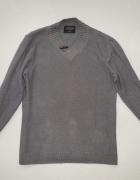 Reserved szary grafitowy sweter rozmiar M...