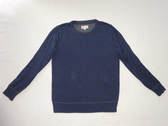 Bluzy fat face granatowy sweter rozmiar L