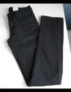 Mango jeansy czarne rurki grafitowe Alice nowe...