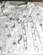 Koszula brązowe gwiazdki oversize...