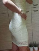 NOWA koronkowa sukienka HM S M