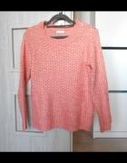Jacqueline de Yong sweter morelowy oversize ciepły...