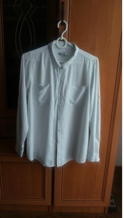 Koszule Biała elegancka koszula