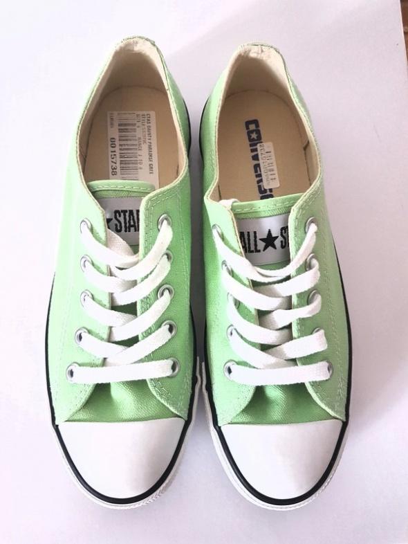 Oryginalne trampki Converse Zielone miętowe Slim N...
