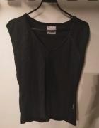 Czarna koszulka Top Secret L...