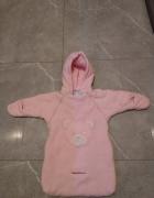 Różowy śpiwór Baby Dove 0 do 12 miesięcy...