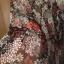 Sukienka mgiełka w kwiaty hippie etno boho Promod rozmiar 38