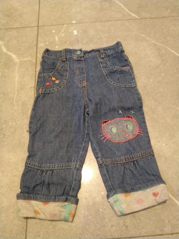 Urocze spodnie jeansowe Cherokee 12 do 18 miesięcy...