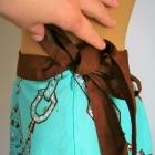 Spódniczka rozkloszowana ozdobiona cekinami BIK BOK