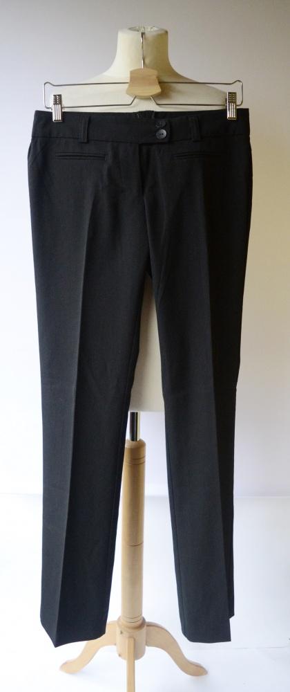 Spodnie Czarne Vero Moda Eleganckie Paseczki M 38 Wizytowe Pask...