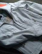 Biała kurtka M...
