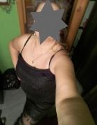 Sukienka czarna na ramiączkach roz 46