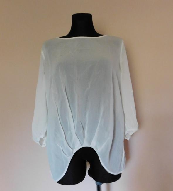 Next biała bluzka mgiełka 42...