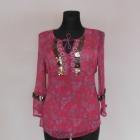 Debenhams różowa bluzka orient 40 42
