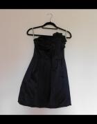 Debenhams czarna sukienka gorsetowa 34...