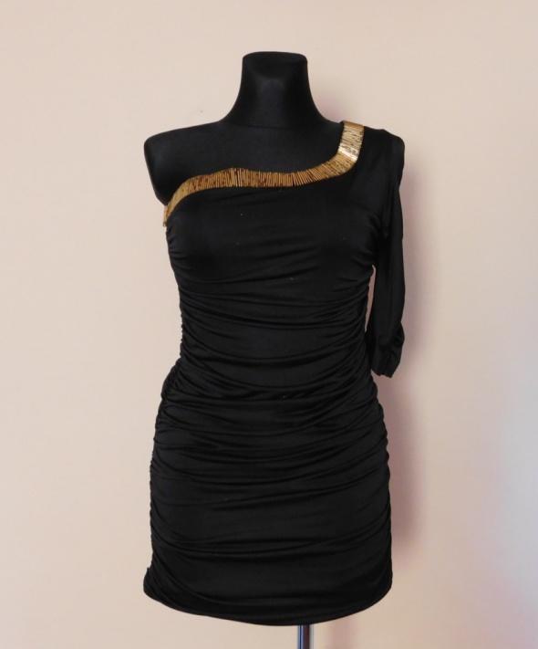 Rare London sukienka czarna sexy 36 38...