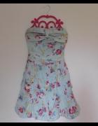Paprika sukienka w kwiaty 34 32...
