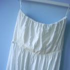 Gina Tricot kremowa sukienka luźna cos minimal