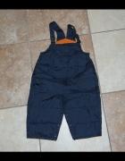Ocieplane spodnie zimowe 74...