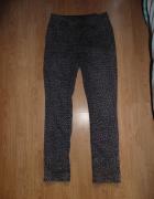 Jeansy w panterkę C&A...