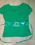 Zielona bluzka Lady Lari...