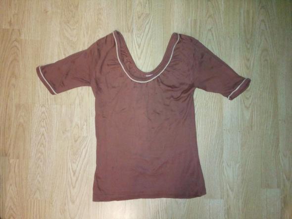Bluzki Brązowa bluzka