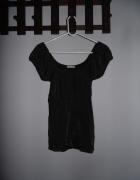 Czarna połyskująca bluzka ICHI rozmiar M...