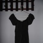 Czarna połyskująca bluzka ICHI rozmiar M