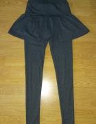 Spódnico spodnie falbanka...