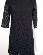 George koronkowa czarna sukienka M...