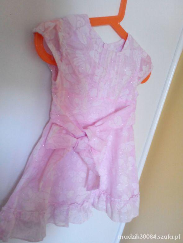 Sukienki i spódniczki jasnoróżowa sukienka smyk 80