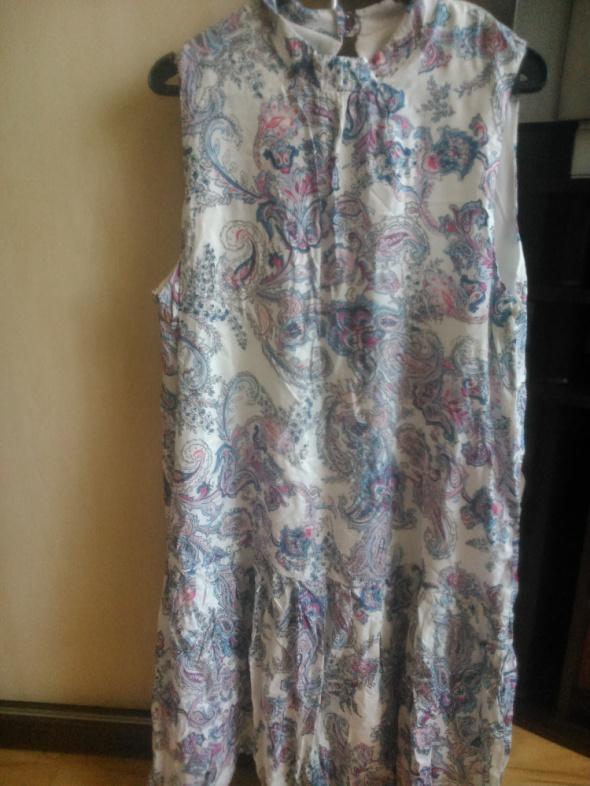 Sukienka w kwiaty Reserved rozmiar 40