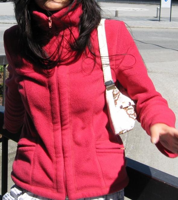 Polar bluza zamek zip suwak kurtka s 36