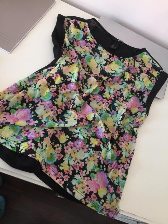 bluzeczka w kwiaty H&M