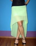 asymetryczna spódnica xs s...