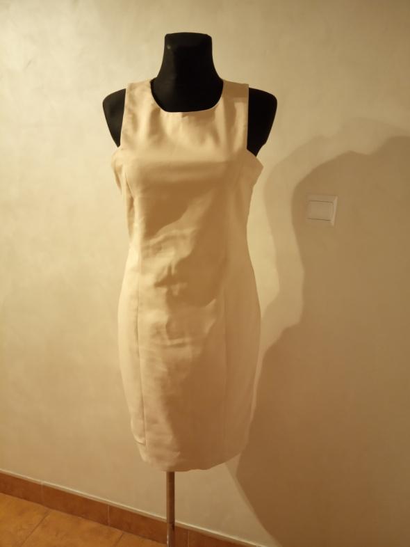 Suknie i sukienki Sukienka ołówkowa pudrowy róż