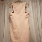 Sukienka ołówkowa pudrowy róż