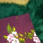 Spódnica midi w kwiaty