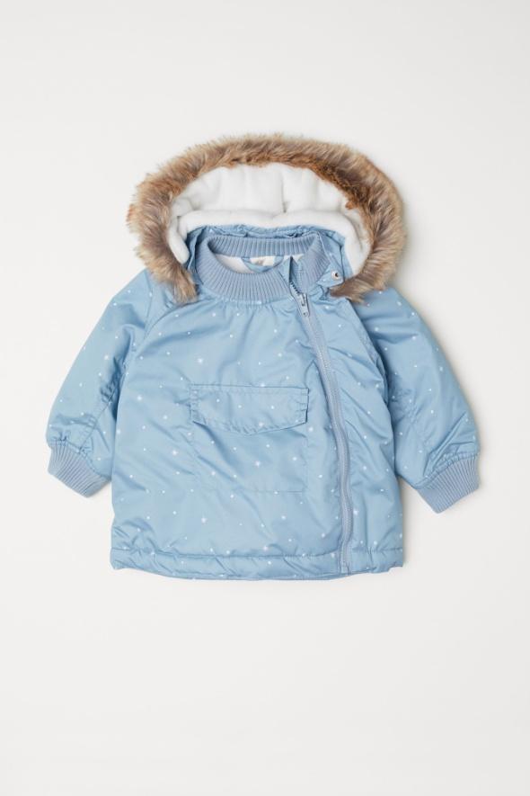 Watowana kurtka outdoorowa zimowa Rozm 92 H&M