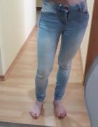 jeansy skinny rozmiar 24...