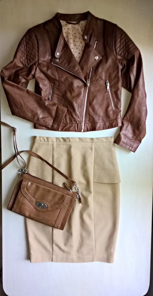 Spódnice Ołówkowa spódnica z wysokim stanem ZARA XS S