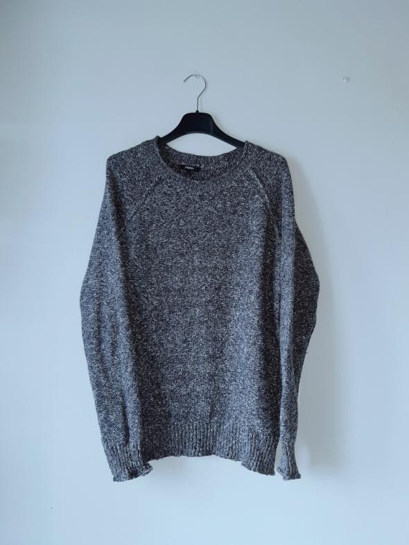 Idealny ciemnoszary sweterek papaya M
