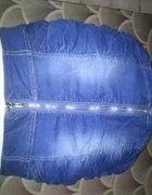 Krótka spódnica dżinsowa